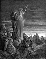 Ezekiel Prophesying to the People