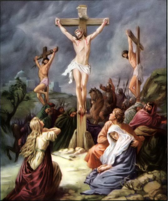 the crucifixion story of christ Often in pop culture, medieval catholics are portrayed as boldly (maybe blindly) going off to fight in the crusades and coming back from the holy land with relics of the crucifixion of christ but the actual stories of the relics of the crucifixion and how they were discovered are infinitely more .
