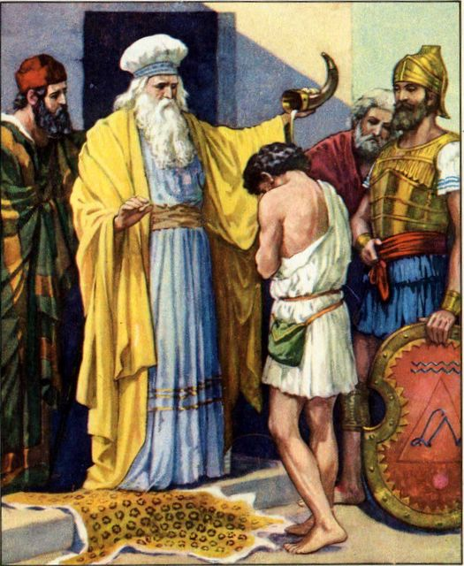Pictures Of The Bible Story Of David