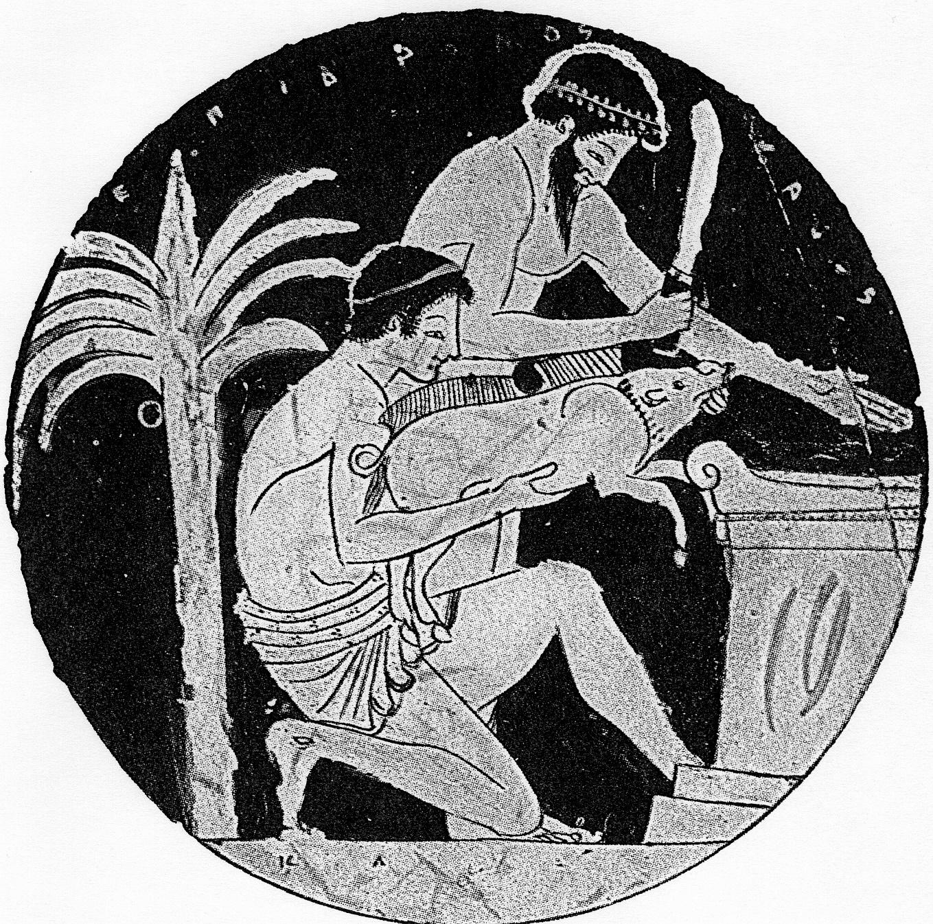 Greek sacrifice